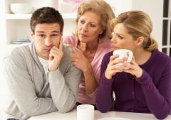 Конфликты между женой и мамой. А должен ли и может их разруливать мужчина?