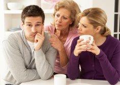 Конфликты между женой и мамой