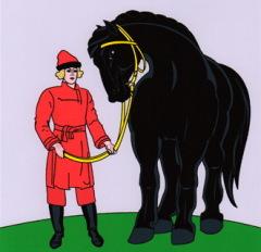 Владимирский тяжеловоз. Откуда родом кони богатырские?