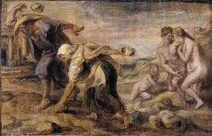 Рубенс, «Девкалион и Пирра». Люди из камня?