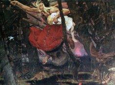 Баба Яга: демон из потустороннего мира, берегиня или инопланетная гостья?