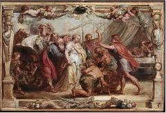 Рубенс, «Возвращение Брисеиды Ахиллу». За что воевали греки?