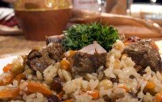 Как не любить узбекскую кухню? Палов ош!