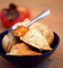 Пироги с хурмой и другие зимние блюда