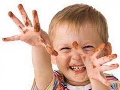 Как приучить детей умываться