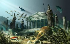 Атлантида – загадка, покрытая туманов тысячелетий, сотен гипотез и теорий