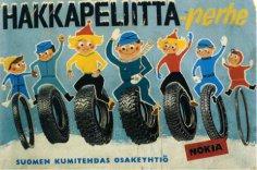 Как финская национальная идея связана с производством авторезины?