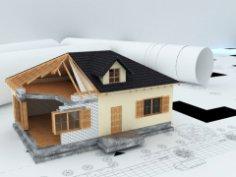 Как привязать проект дома к участку?
