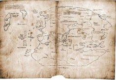 Карта-загадка