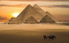 Пирамиды-антенны в Древнем Египте
