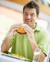 Жирная еда ведет к бесплодию у мужчин