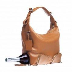 Дамская сумка для незаметного хранения бутылки вина
