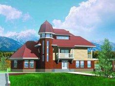 Строительство недорогого загородного дома