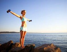 Фитнес: как похудеть, а не нарастить мышцы