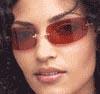 Разноцветные очки через которые женщины смотрят на мужчину своей мечты