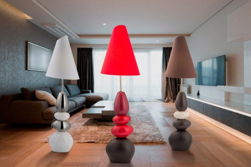 Абажуры, светильники и торшеры - символ домашнего уюта