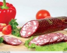 Почему колбасу режут наискось?