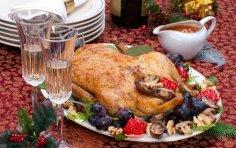 Что приготовить к новогоднему столу? Фаршированная птица