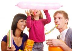 Идеи для семейных вечеринок. Придумаем праздник