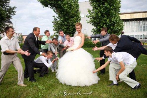 Кто главный на свадьбе, или Необычные женихи