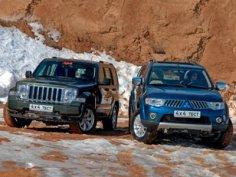 Jeep Cherokee или Mitsubishi Pajero Sport