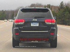 Рестайлинговый Jeep Grand Cherokee отказался от «камуфляжа»