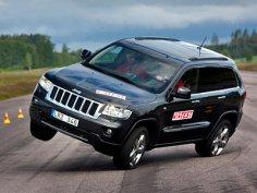 Jeep Grand Cherokee провалил «лосиный тест»