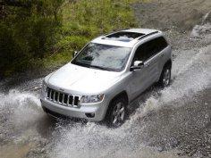 Американцы покажут в январе электрический Jeep Grand Cherokee