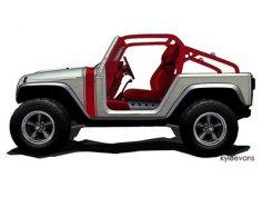 Два новых концепта Jeep покажут в середине апреля