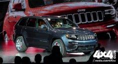 Обновленный Jeep Grand Cherokee
