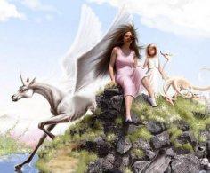 Боги, ангелы, русалки и другие мифические существа в истории человеческой цивилизации