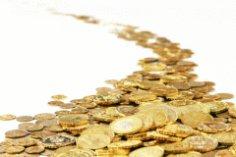 Как появились золотые монеты?