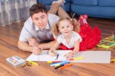 Чем занять ребенка в отсутствие папы?