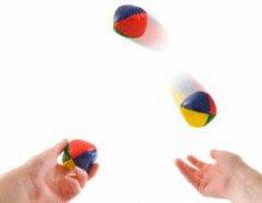 С чего начать, чтобы научиться хорошо жонглировать?