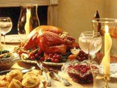 Как приготовить рождественскую индейку с овощами по-английски?