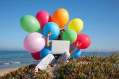 Как вернуть щедрое лето? Мастер-класс «Декупаж на ноутбуке»