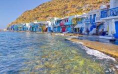 Где можно остановиться на греческом острове Милос?