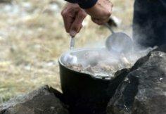 Как встречают гостей в казахской степи?