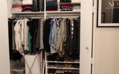 Как навести порядок в шкафу и превратить его в полноценный гардероб?