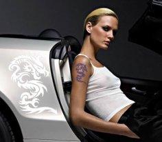 Татуировки и стикеры - легкий способ подчеркнуть свою индивидуальность
