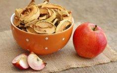 Какова польза сушеных яблок?