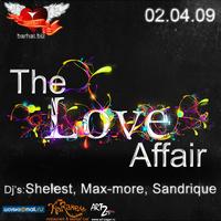 2 мая - The Love Affaire в «Бархате»