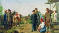 Как в России отменяли крепостное право? Как и вводили - постепенно! Примерно столетие...