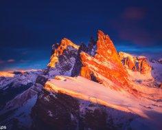 Что объединяет гномов, розы и горные лыжи? Италия, Доломитовые Альпы
