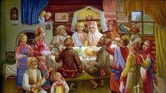 Как проводилась традиционная русская свадьба?