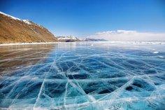 Каким бывает лед на Байкале?