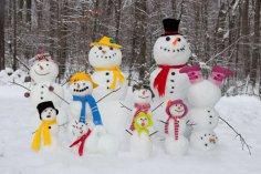 Снеговик: что он символизировал в прошлом? История со снежком...