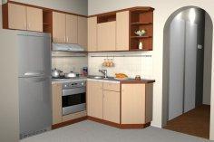 Как обустроить малогабаритную кухню? Интерьер угловой планировки