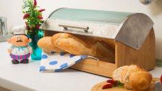 Какой должна быть хлебница, чтобы продукт оставался свежим?