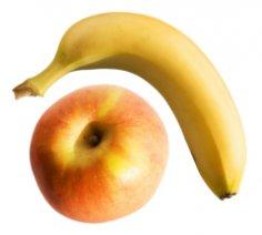 Как хозяйке обхитрить кризис? Хитрим с бананом и яблоком
